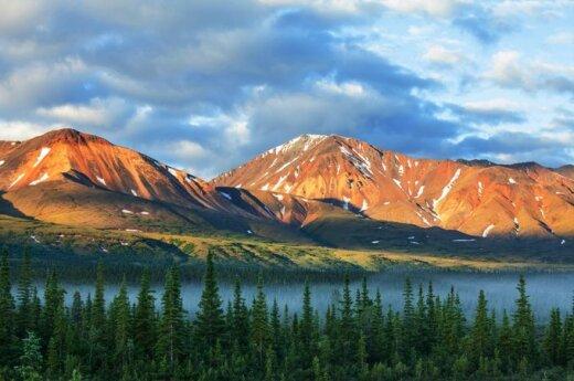 Kalnai Aliaskoje