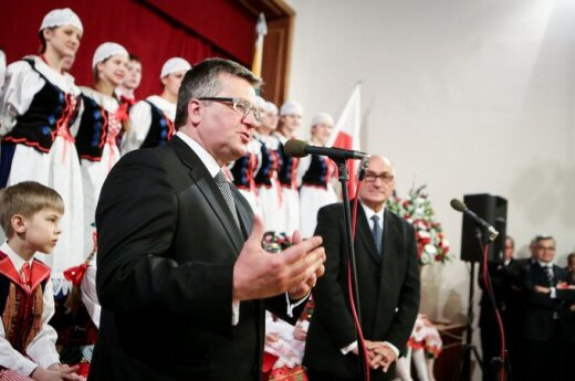 Komorowski: Jestem gościem Litwy nowoczesnej i demokratycznej