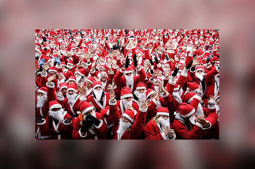 Kalėdų Senelių bėgimo varžybos