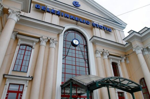 Ładunek wybuchowy na dworcu w Wilnie