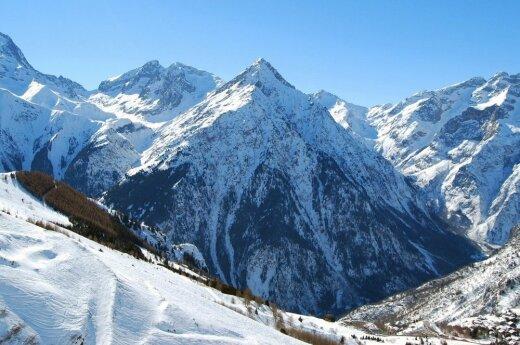 В Альпах погибли два литовских альпиниста