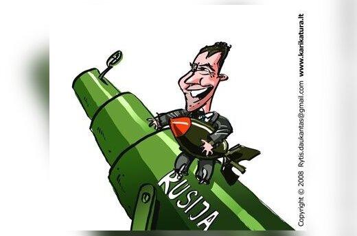 Д.Медведев запретил поставки оружия в Грузию