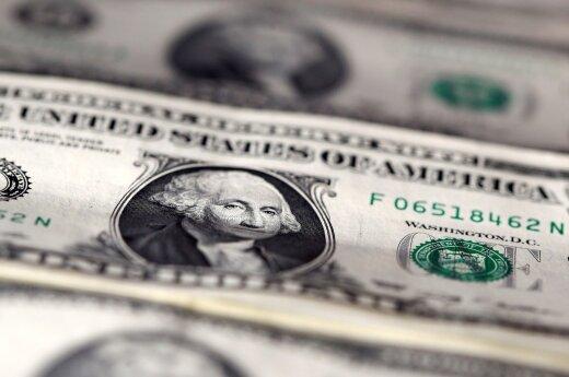Po FED pareigūno pasisakymo apie palūkanų normos didinimą doleris pinga