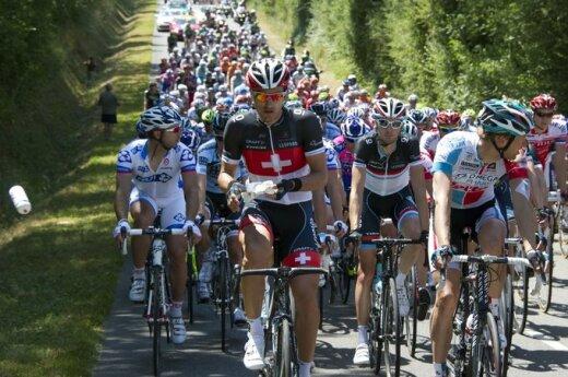 """Tour de France"" dviratininkų lenktynės"