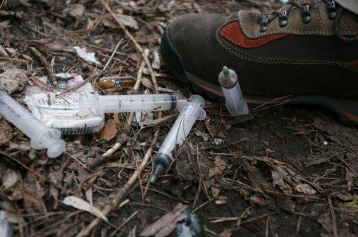 Litwa w czołówce krajów, w których najwięcej osób umiera od narkotyków