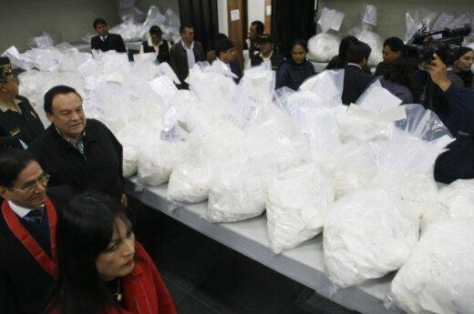 Испанская полиция арестовала 1,5 тонны кокаина
