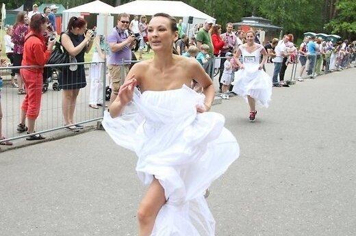 В Риге состоялся забег невест