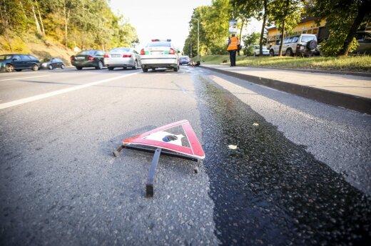 Per savaitę – 72 eismo įvykiai: 93 žmonės sužeisti