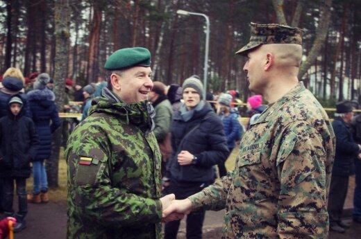 Military in Vsaginas