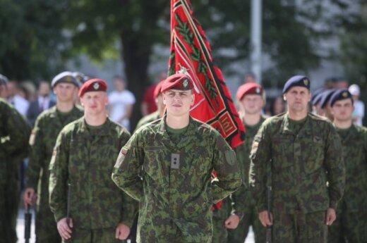 В случае войны 40% литовцев пошли бы защищать отечество