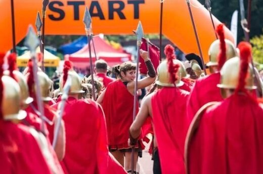 Spartans for Kids will run Vilnius Marathon