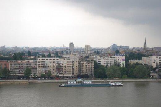 """""""Жальгирис"""" в Белграде сопровождала вооруженная полиция"""
