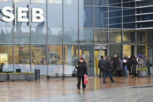 Банк SEB прогнозирует медленное развитие для Латвии и Литвы
