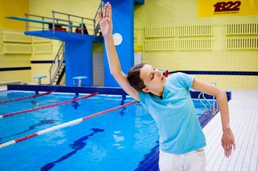 Taisyklingo plaukimo pamokėlė: kokios klaidos būdingos savamoksliams plaukikams