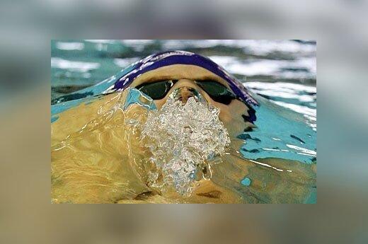 Ketvirtadienį prasidėjo Europos plaukimo 25m baseine čempionatas Italijoje. Nuotraukoje: Didžiosios Britanijos atstovas Liamas Tancockas dalyvauja vyrų 200 metrų plaukimo kompleksiniu būdu varžybose.