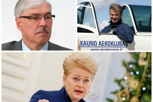 Ближайшим соперником Грибаускайте на президентских выборах был бы Паксас
