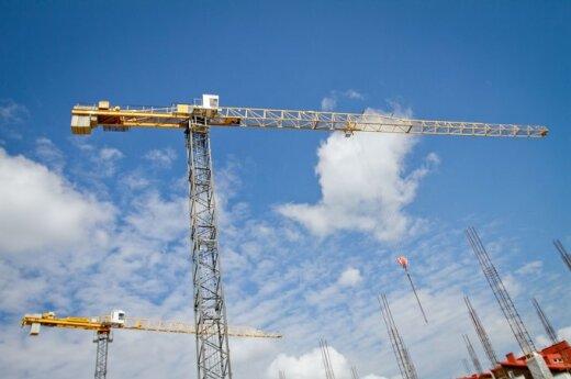 В Каунасе строят здание за 5,4 млн. литов