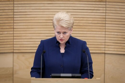 Грибаускайте: события на Украине побуждают переосмыслить европейскую политику