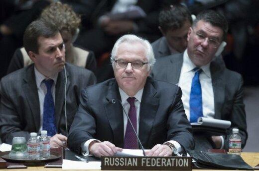 Rusijos ambasadorius prie Jungtinių Tautų Vitalijus Čiurkinas