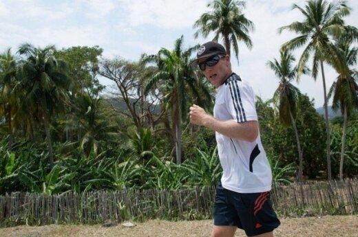 M.Jovaišos maratono Kuboje akimirkos