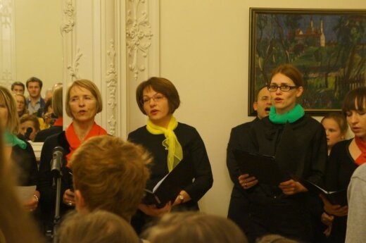 Lithuania's diplomatic missions in Brussels organized commemorative independence day gathering