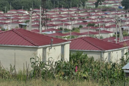 Refugee camp in Georgia