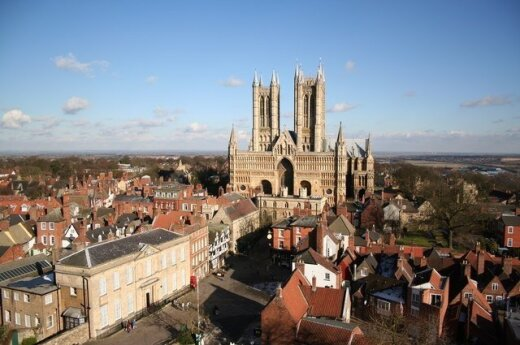 Lincoln, England. Photo geograph.org.uk