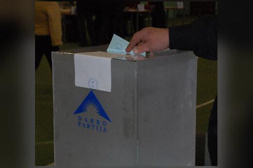 Darbo partija, balsavimas