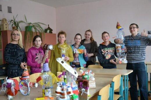 Žemės diena Šiaulių progimnazijoje: mokėsi ir mokiniai, ir mokytojai