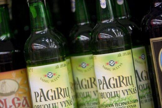 После запрета больших пивных бутылок с прилавков сметают крепленое вино