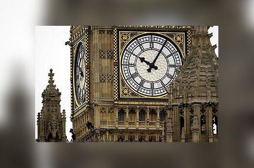 Londonas, Didžioji Britanija, Big Benas, Anglija