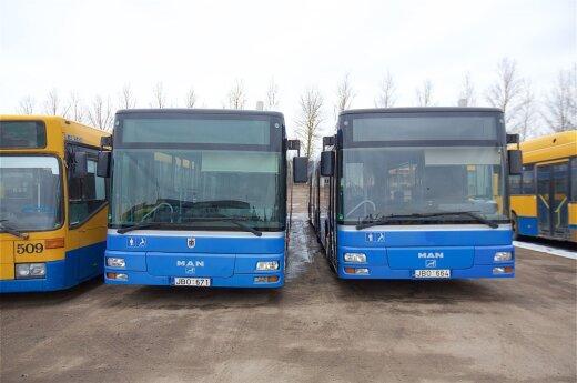 Вильнюс ищет продавца для приобретения 150 новых автобусов