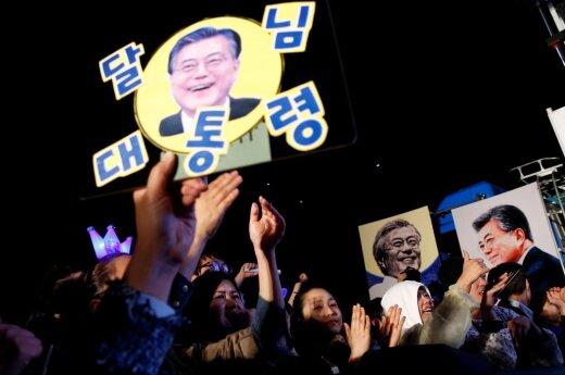 Леволиберал Мун Чжэ Ин выиграл президентские выборы в Южной Корее