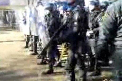 Беспорядки в Азербайджане: полиция применила водометы