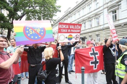 Литва не хочет следовать примеру Эстонии - узаконить гомосексуальное партнерство