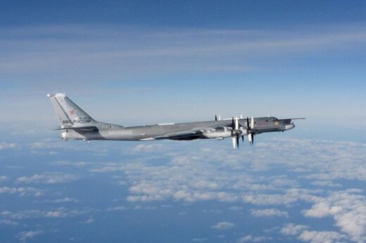 Four Russian military planes and two ships reported close to Baltic states last week