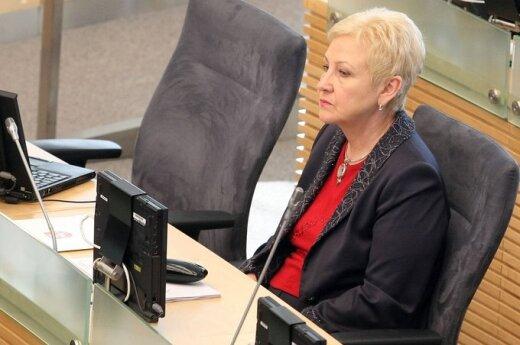 Спикер Сейма Литвы: сомневаюсь, что президент доверяет правительству