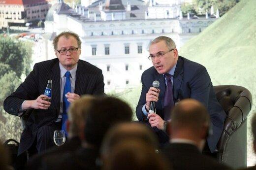 Leonidas Donskis and Mikhail Khodorkovsky
