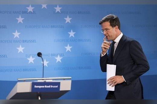 """Nyderlandų, Airijos ir Danijos premjerai pabrėžė ES vienybės dėl """"Brexit"""" svarbą"""