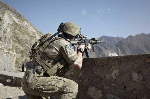 """JAV karys kovoja su """"Haqqani"""" teroristais"""