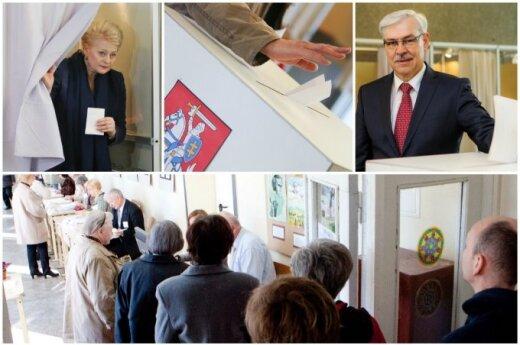 Президентские выборы: Литву ждет второй тур