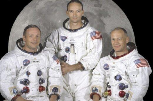 Neilas Armstrongas, Michaelis Collinsas, Edwinas Aldrinas