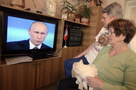 "Calls to ban Russian TV channels amidst Moscow's ""information war"" against Lithuania"