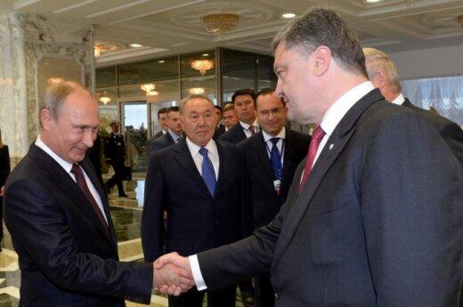 Vladimir Putin, Petro Poroshenko