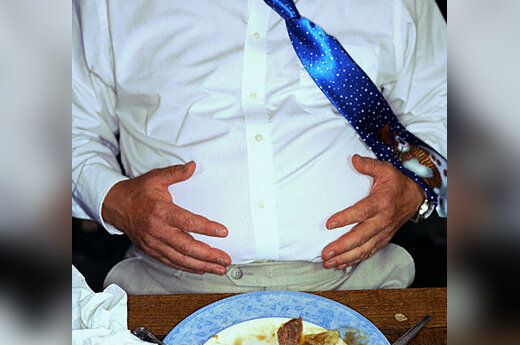 Persivalgęs vyras