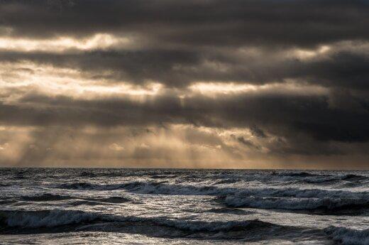 Шторм в Балтийском море: ожидаются волны до четырех метров в высоту