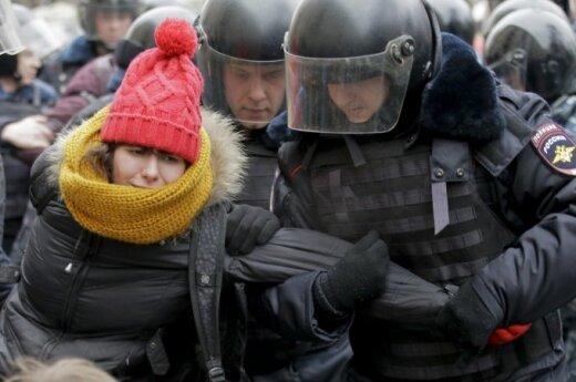 Навального, Немцова и других оппозиционеров наказали арестом