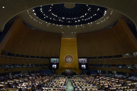 Российская делегация вышла из зала Генассамблеи ООН во время выступления Порошенко
