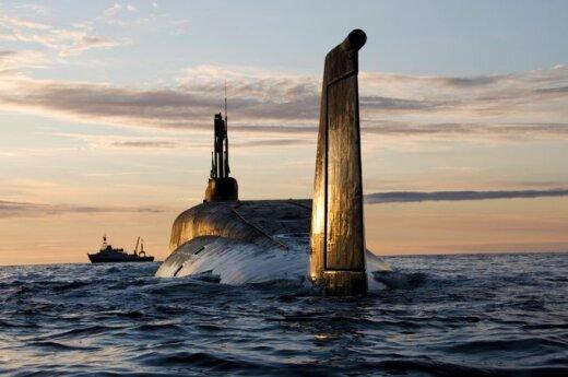 """Rusijos povandeninis laivas """"Yuri Dolgoruky"""""""
