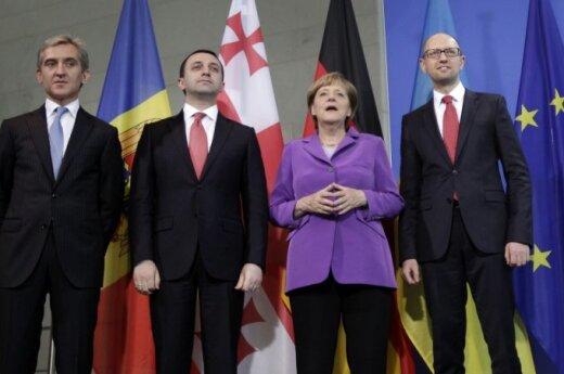 Грузия, Молдова и Украина подтвердили курс на сближение с ЕС